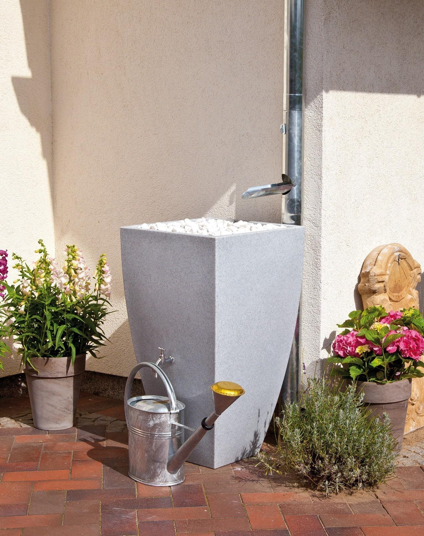 Regentonne / Regenwassertank Premier Tech Aqua Modena 350 L granit Bild 1
