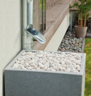 Regentonne / Regenwassertank Premier Tech Aqua Modena 350 L granit Bild 3