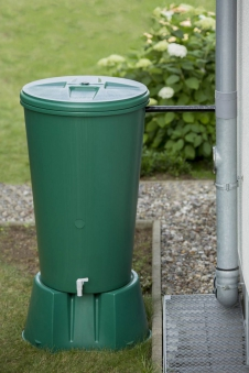 GreenLife Regensammler mit Filter 80-105mm grau Bild 2