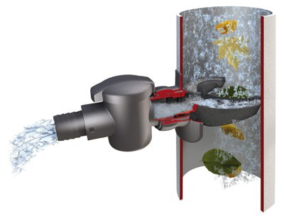 Regensammler / Fallrohrfilter Speedy GRAF GARANTIA 503040 Bild 1