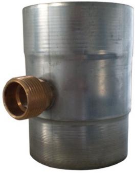 Regenwassersammler Zink 80 mm Bild 1