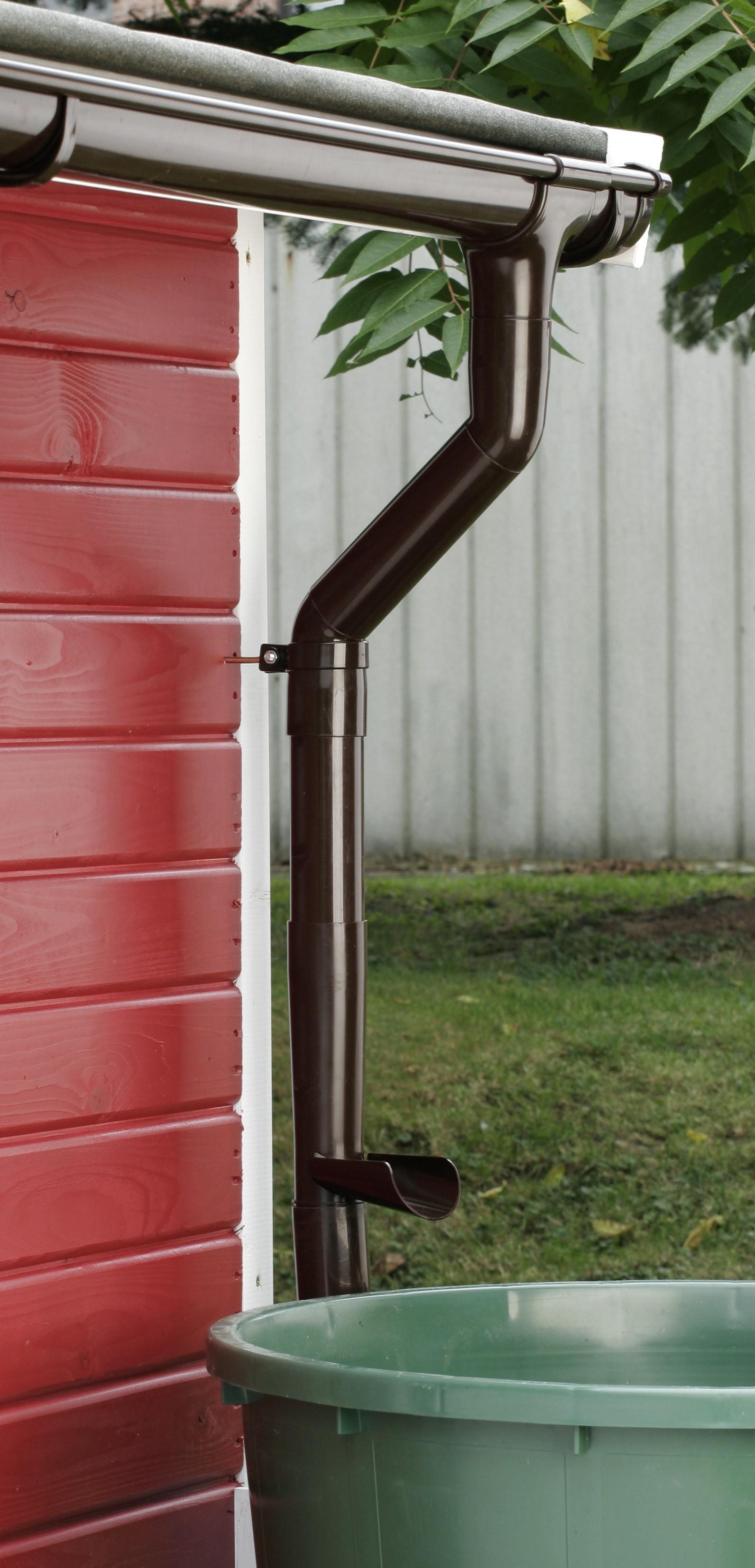 Wasserablauf grau DN 53 Bild 2