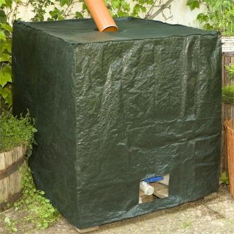 Abdeckung / IBC Container Cover Premium Noor 121x101x116cm 200g/m² Bild 1