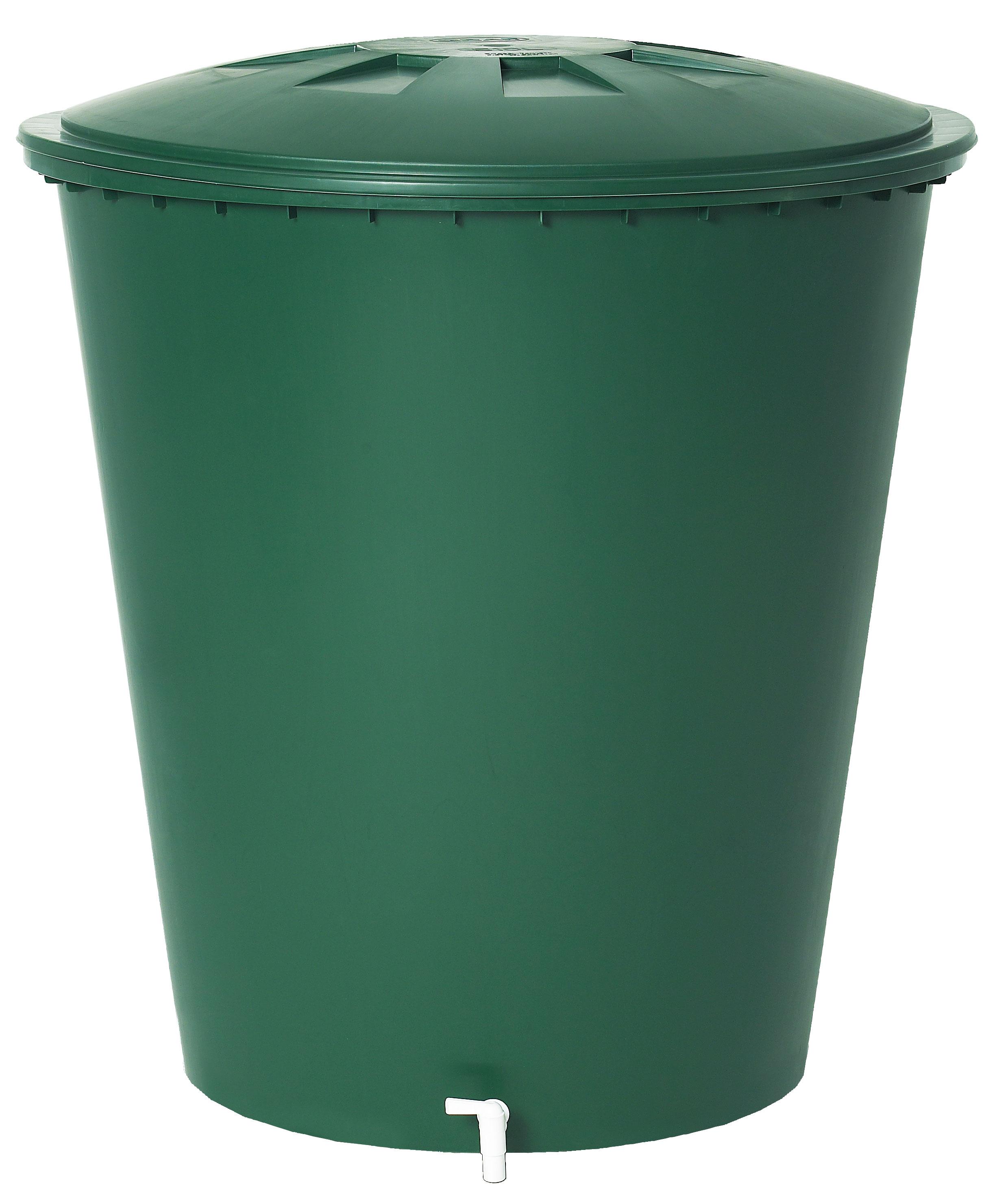 B-Ware Regentonne rund 310 Liter grün GARANTIA 500213 Bild 1