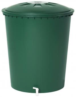 B-Ware Regentonne rund 510 Liter grün GARANTIA 500214 Bild 1