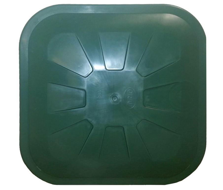 Deckel für Garantia Regentonne eckig 203 Liter grün Bild 2