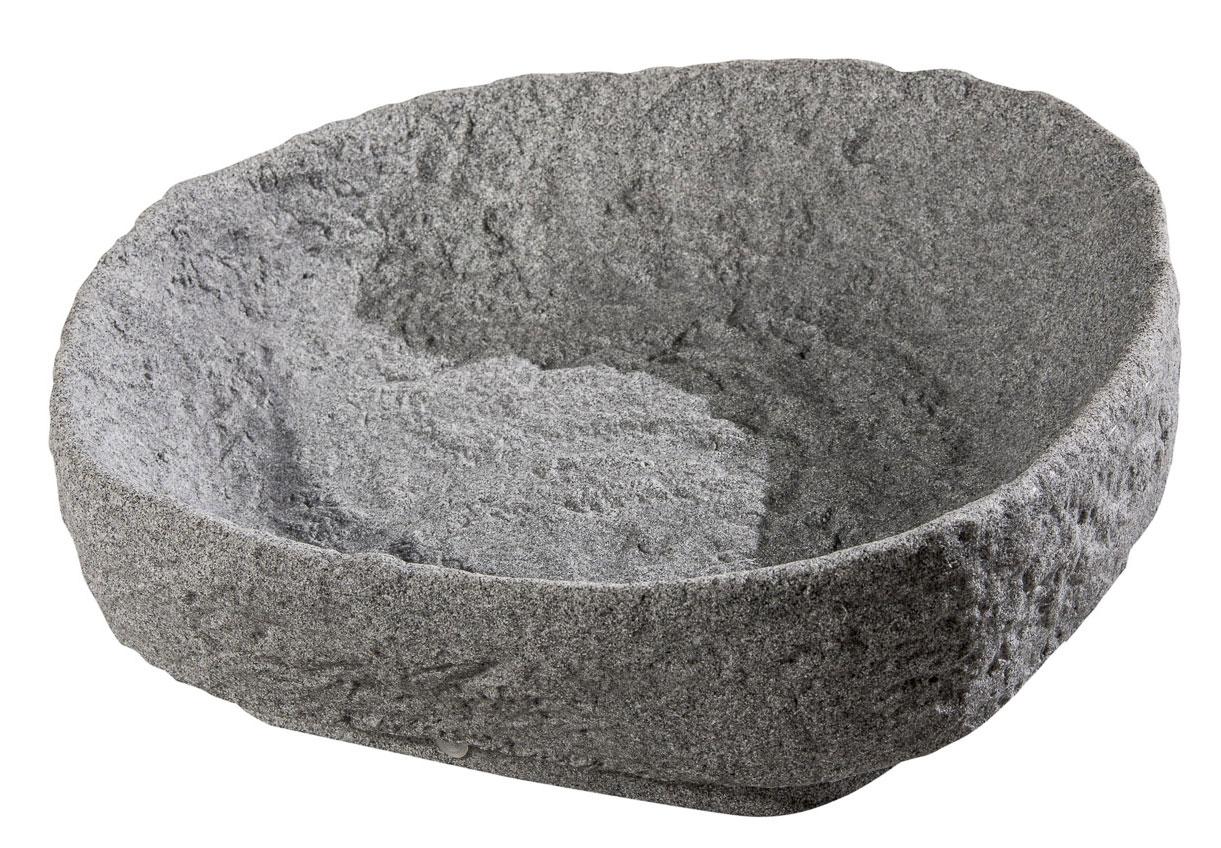 Pflanzschale für Regentonne Hinkelstein GreenLife granitgrau Bild 1