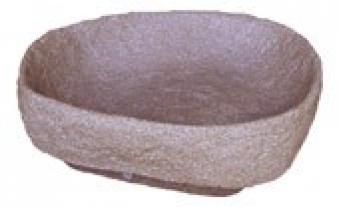 Pflanzschale für Regentonne Hinkelstein GreenLife granitrot Bild 1