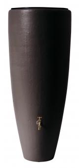 Regentonne 2in1 300 Liter mit Pflanzschale mocca GRAF 326109 Bild 1