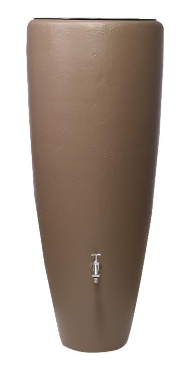 Regentonne 2in1 300 Liter mit Pflanzschale taupe GRAF 326116 Bild 1