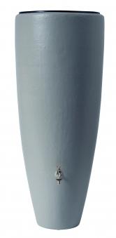 Regentonne 2in1 300 Liter mit Pflanzschale zinkgrau GRAF 326111 Bild 1