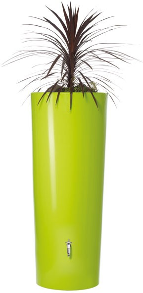 regentonne color 2in1 350l mit pflanzschale apple graf 326100 bei. Black Bedroom Furniture Sets. Home Design Ideas