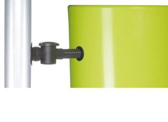 Regentonne Color 2in1 350L mit Pflanzschale coco GRAF 326105 Bild 3
