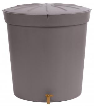 regentonne lanzarote 300 liter rund graphit garantia bei. Black Bedroom Furniture Sets. Home Design Ideas