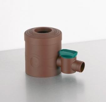 Sammelfilter / Regenwassersammler REWATEC 68 bis 100 mm braun