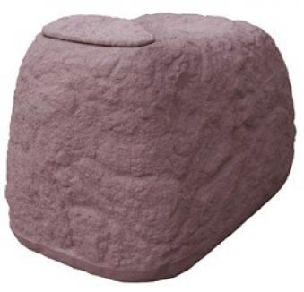 regentonne regenwassertank findling 500 liter granitrot. Black Bedroom Furniture Sets. Home Design Ideas