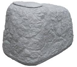 Regentonne / Regenwassertank GreenLife Findling 500 Liter granitgrau Bild 1