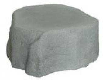Sockel zu Regentonne GreenLife Hinkelstein Höhe 30 cm granitgrau