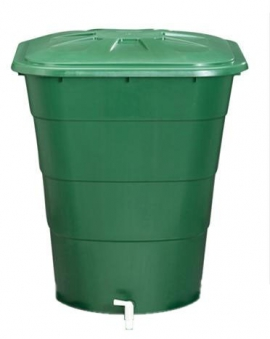 Regentonne eckig 203 Liter grün GARANTIA 501205 Bild 1