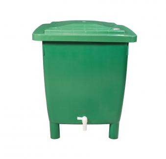 Regentonne eckig 400 Liter grün GARANTIA 501202 Bild 4