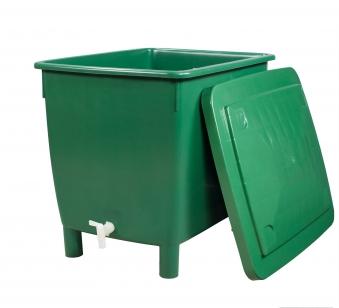 Regentonne eckig 400 Liter grün GARANTIA 501202 Bild 5