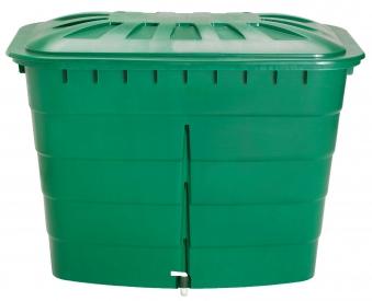 Regentonne eckig 520 Liter grün GARANTIA 501207 Bild 1