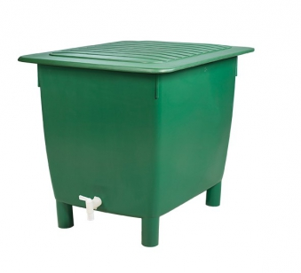 Regentonne eckig 650 Liter grün GARANTIA 501203 Bild 3