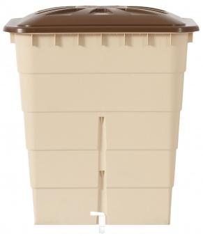 Regentonne eckig Sahara 300 Liter sandbeige GARANTIA 501209 Bild 1