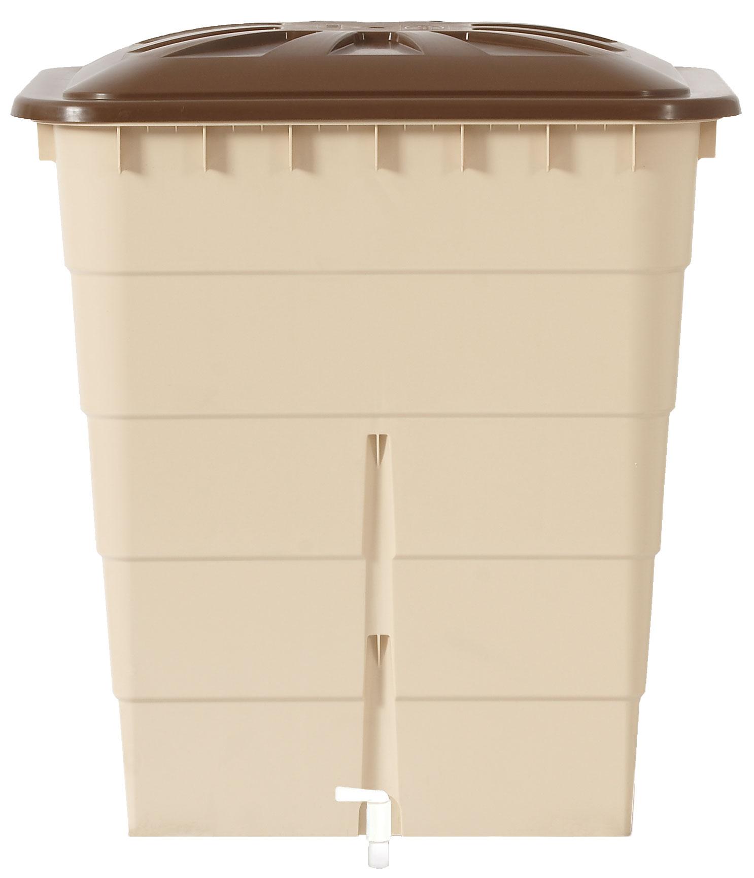 regentonne sahara 300 liter sandbeige eckig garantia 501209 graf bei. Black Bedroom Furniture Sets. Home Design Ideas