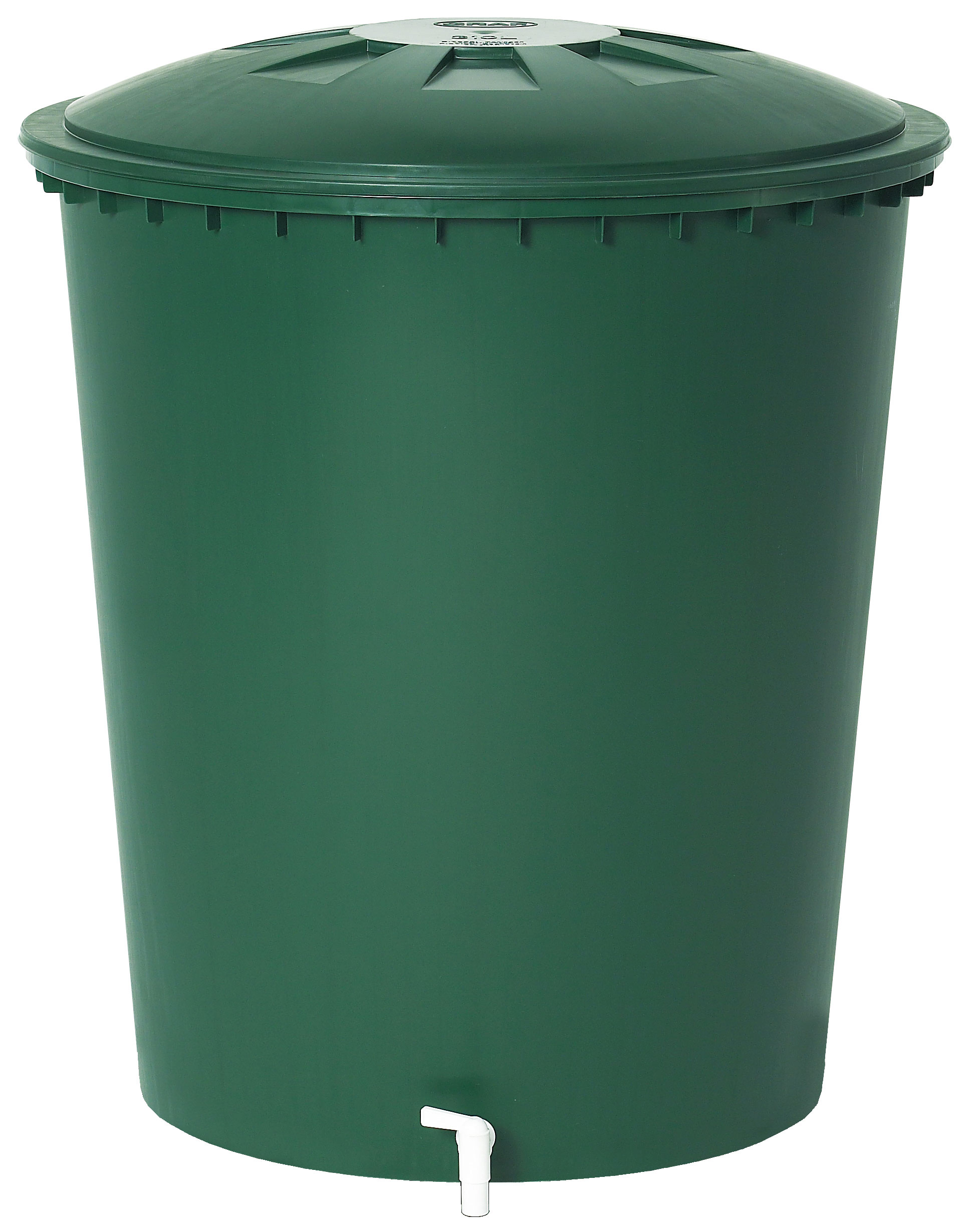 Regentonne rund 510 Liter grün GARANTIA 500214 Bild 1