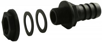 Regentonnenverbinder / Tonnenanschluss 3/4 Zoll Bild 1