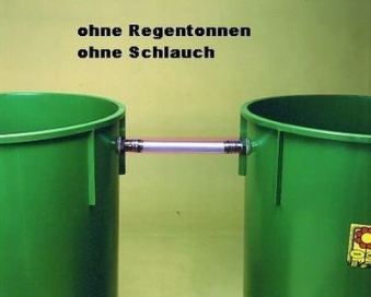 Regentonnenverbinder / Tonnenanschluss 3/4 Zoll Bild 3