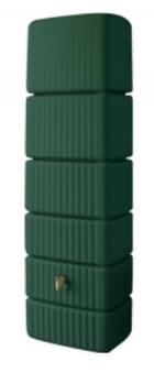 Regenwasser Wandtank Slim 300 Liter grün 4Rain 211802 Bild 1