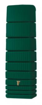 Regenwasser Wandtank Slim 650 Liter grün 4Rain 211804 Bild 1