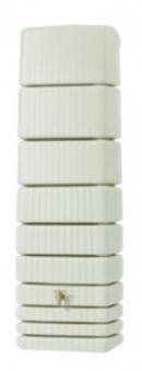 Regenwasser Wandtank Slim 650 Liter sandbeige 4Rain 211803 Bild 1