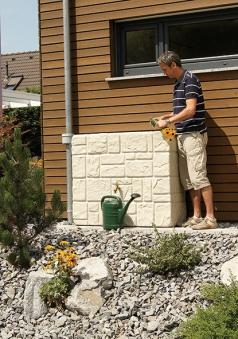 Regenwassertank Mauertank 300L sandbeige GRAF 326121 Bild 3