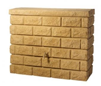 Regenwassertank Mauertank Rocky 400L sandstone GRAF 326132 Bild 1