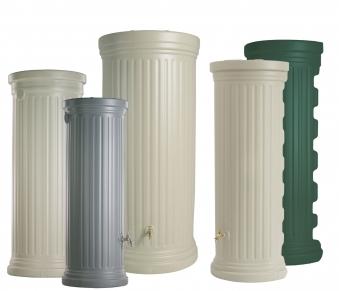 Säulentank 1000 Liter steingrau GRAF 326506 Bild 4