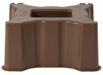sockel unterstand f r regentonne sahara 300 l eckig braun garantia bei. Black Bedroom Furniture Sets. Home Design Ideas