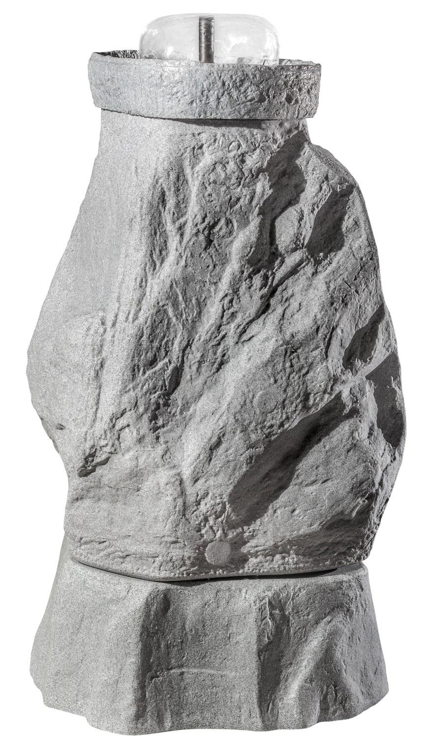 Springbrunnenset für Regentonne GreenLife Hinkelstein granitrot Bild 3