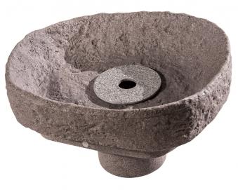 Springbrunnenset für Regentonne GreenLife Hinkelstein granitrot Bild 1