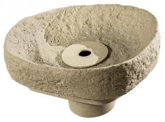 Springbrunnenset für Regentonne GreenLife Hinkelstein sand Bild 1
