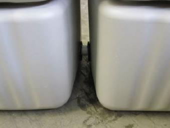 Verbindungs-Set für oberirdische Behälter 25mm Länge 9,5cm 4Rain Bild 2