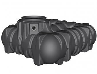 Flach- Erdtank Platin Haus Eco-Plus befahrbar 3.000 Liter Graf 390210 Bild 1