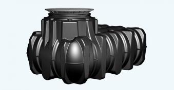 Flachtank Platin Garten-Komfort Set befahrbar 1.500 Liter Graf 390205 Bild 1