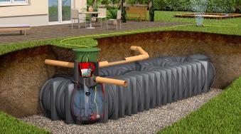 Flachtank Platin XL Garten-Komfort Set befahrbar 15000L Graf 390433 Bild 1