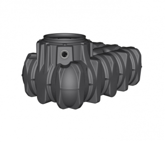 B-Ware Flach- Erdtank Platin befahrbar 1.500 Liter Graf 390000 Bild 1