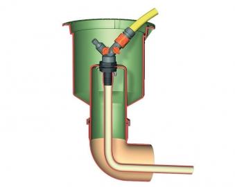 Wasseranschlussbox Extern GRAF GARANTIA 202060