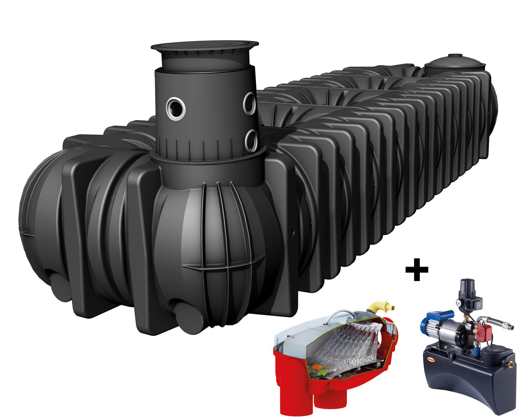 Flachtank Platin XL Set Haus Eco-Plus befahrbar 15000L Graf 390435 Bild 1