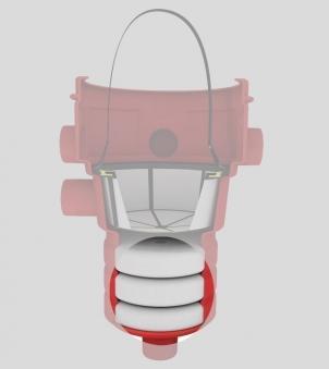 Filtersubstrat Ersatz für Substratfilter Intern 400 GRAF 231010 Bild 1